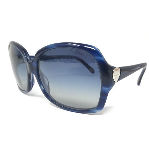 Tiffany & Co. Accessories - Tiffany & Co Blue Tortoise Sunglasses TF4041